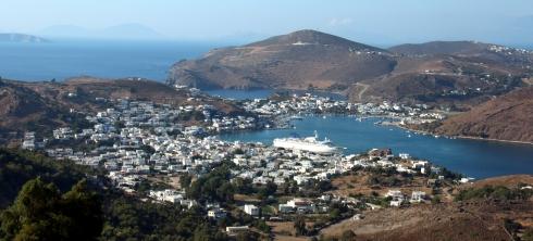 vista panoramica Patmos