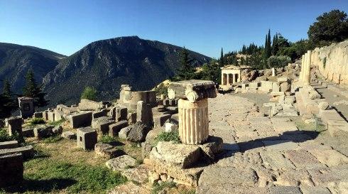 zona arqueológica, Delfos 2