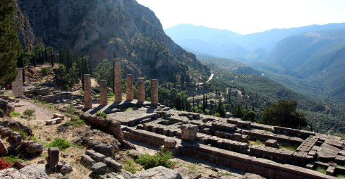 zona arqueológica, Delfos 3