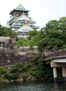 Castillo Osaka, exterior 2