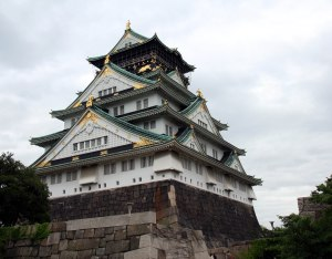 Castillo Osaka, exterior
