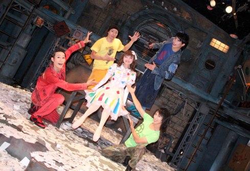 Espectáculo GEAR, elenco actores, Kioto