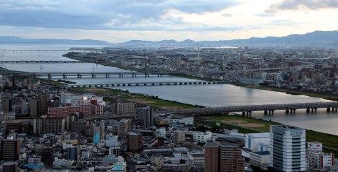 Shin Umeda city, Osaka, vistas 2