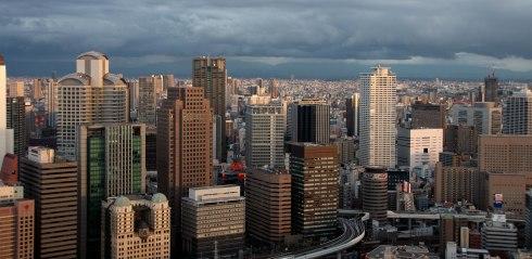 Shin Umeda city, Osaka, vistas