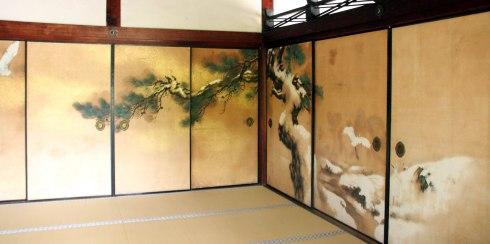 Templo Ninnaji, interior, Kioto