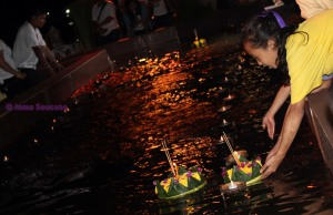 actividades Loy Krathong - Bangkok flores