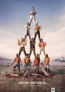 cartel WWF, stop caza furtiva