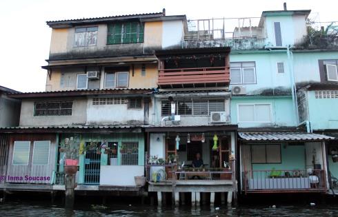 casa canal rio Bangkok