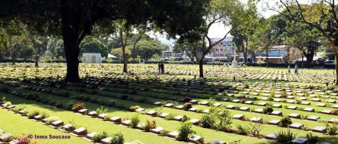 Cementerio Kanchanaburi, interior