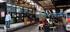 estacion de vans en Victory Monument