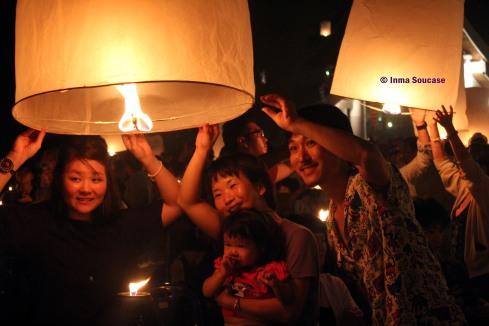 faroles luz detalle - Yi Peng - Chiang Mai