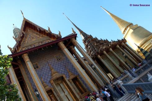 Gran Palacio Bangkok - edificios laterales