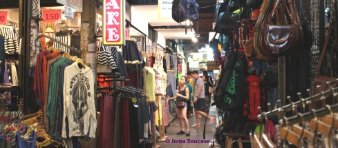 mercado Chatuchak -calle cubierta