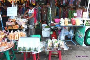mercado Chatuchak - puesto fruta