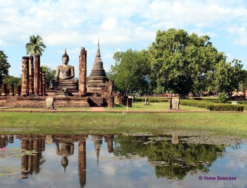 Parque Histórico de Sukhothai - templo Wat Mahathat