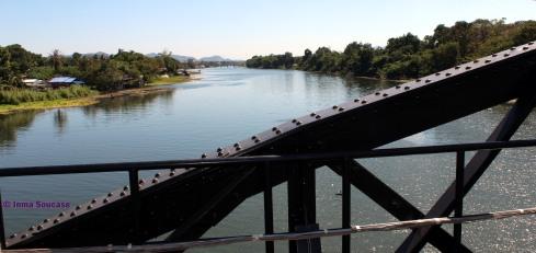 puente sobre el rio Kwai, vistas