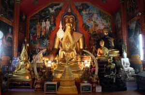 Templo Doi Suthep, Chiang Mai - interior