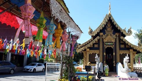 Wat Inthakhin sadue muang, Chiang Mai - exterior