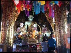 Wat Inthakhin sadue muang, Chiang Mai - interior