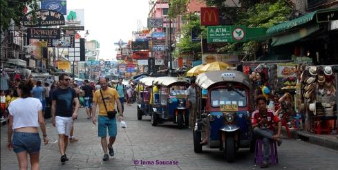 Calle mochileros Tailandia - Tanon Khao San