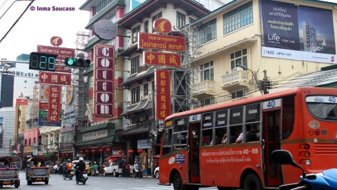 Chinatown Bangkok - calle