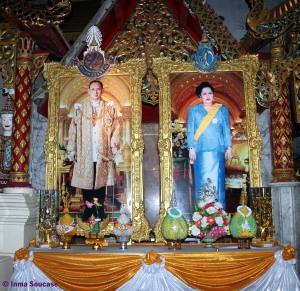 Cuadros Rey y Reina de Tailandia