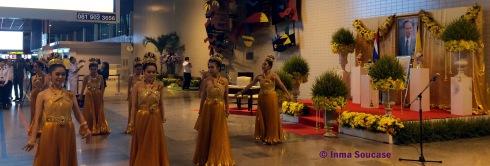 cumpleaños rey Tailandia - baile aerouertp