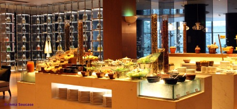 desayuno buffet, hotel Radisson Blu Plaza Bangkok