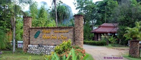 Hotel Khao Sok and spa - entrada