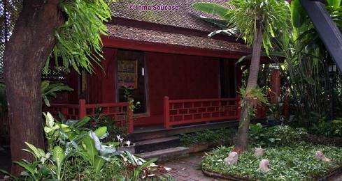 Jim Thompson casa museo - estancia interior patio