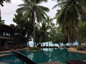 Krabi Sand Sea Resort, piscina - railay beach