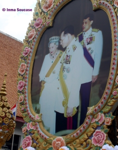rey Tailandia y Reina Inglaterra
