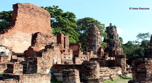 Wat Mahathat - ruinas ladrillo