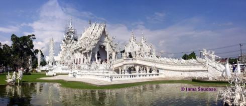 Wat Rong Khun - panoramica completa