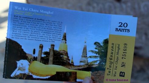 Wat Yai Chaya Mongkol - entrada